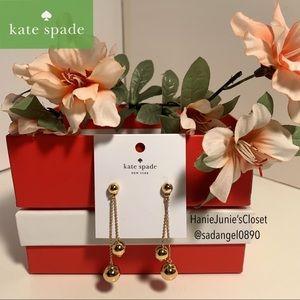 KATE SPADE GOLD EARRINGS